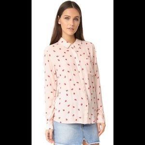 Rails Rocsi Strawberries Button Down Shirt